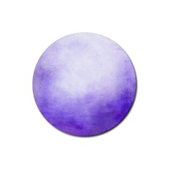 Ombre Rubber Round Coaster (4 Pack)  by ValentinaDesign