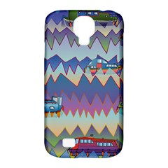 Zig Zag Boats Samsung Galaxy S4 Classic Hardshell Case (pc+silicone) by CosmicEsoteric