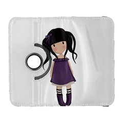 Dolly Girl In Purple Galaxy S3 (flip/folio) by Valentinaart