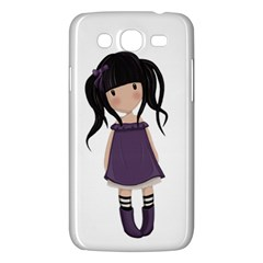 Dolly Girl In Purple Samsung Galaxy Mega 5 8 I9152 Hardshell Case  by Valentinaart