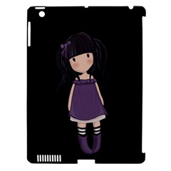 Dolly Girl In Purple Apple Ipad 3/4 Hardshell Case (compatible With Smart Cover) by Valentinaart