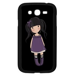 Dolly Girl In Purple Samsung Galaxy Grand Duos I9082 Case (black) by Valentinaart