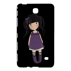Dolly Girl In Purple Samsung Galaxy Tab 4 (7 ) Hardshell Case  by Valentinaart