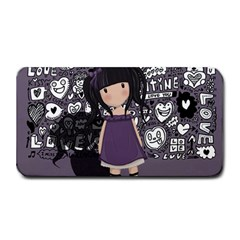 Dolly Girl In Purple Medium Bar Mats by Valentinaart