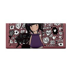 Dolly Girl In Purple Cosmetic Storage Cases
