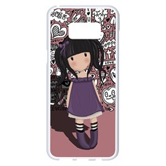 Dolly Girl In Purple Samsung Galaxy S8 Plus White Seamless Case