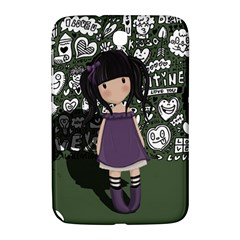 Dolly Girl In Purple Samsung Galaxy Note 8 0 N5100 Hardshell Case  by Valentinaart