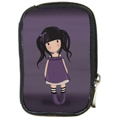 Dolly Girl In Purple Compact Camera Cases by Valentinaart