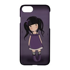 Dolly Girl In Purple Apple Iphone 8 Hardshell Case
