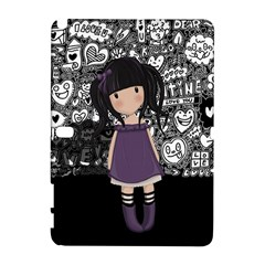 Dolly Girl In Purple Galaxy Note 1 by Valentinaart