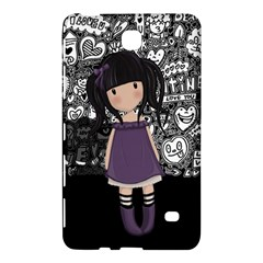 Dolly Girl In Purple Samsung Galaxy Tab 4 (8 ) Hardshell Case  by Valentinaart
