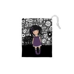 Dolly Girl In Purple Drawstring Pouches (xs)