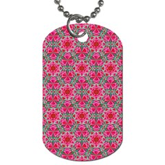 Diamond Star Dog Tag (one Side) by Cveti