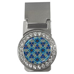 Diamond Star Blue 01 Money Clips (cz)  by Cveti