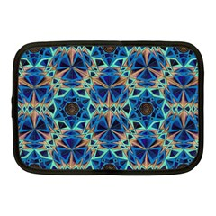 Diamond Star Blue 01 Netbook Case (medium)  by Cveti