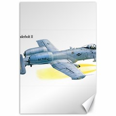 A 10c Thunderbolt Usaf Canvas 12  X 18   by allthingseveryday