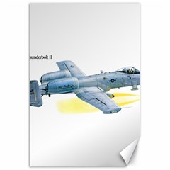 A 10c Thunderbolt Usaf Canvas 20  X 30   by allthingseveryday
