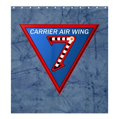 Carrier Air Wing Seven  Shower Curtain 66  X 72  (large)  by allthingseveryday