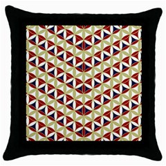 Flower Of Life Pattern 4 Throw Pillow Case (black)