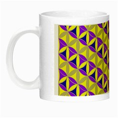 Flower Of Life Pattern 5 Night Luminous Mugs by Cveti