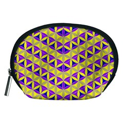 Flower Of Life Pattern 5 Accessory Pouches (medium)