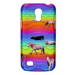 Horses In Rainbow Galaxy S4 Mini by CosmicEsoteric