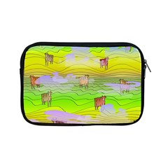 Cows And Clouds In The Green Fields Apple Ipad Mini Zipper Cases by CosmicEsoteric