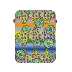 Amoeba Flowers Apple Ipad 2/3/4 Protective Soft Cases by CosmicEsoteric