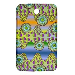 Amoeba Flowers Samsung Galaxy Tab 3 (7 ) P3200 Hardshell Case  by CosmicEsoteric