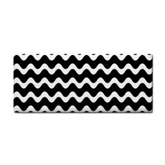 Wave Pattern Wavy Halftone Cosmetic Storage Cases by Celenk