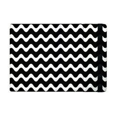 Wave Pattern Wavy Halftone Apple Ipad Mini Flip Case
