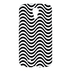 Wave Pattern Wavy Water Seamless Samsung Galaxy S4 I9500/i9505 Hardshell Case by Celenk