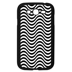 Wave Pattern Wavy Water Seamless Samsung Galaxy Grand Duos I9082 Case (black) by Celenk