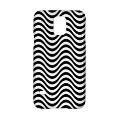 Wave Pattern Wavy Water Seamless Samsung Galaxy S5 Hardshell Case  by Celenk