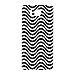 Wave Pattern Wavy Water Seamless Samsung Galaxy Alpha Hardshell Back Case by Celenk
