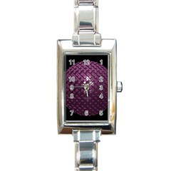Sphere 3d Geometry Math Design Rectangle Italian Charm Watch