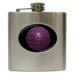 Sphere 3d Geometry Math Design Hip Flask (6 Oz) by Celenk