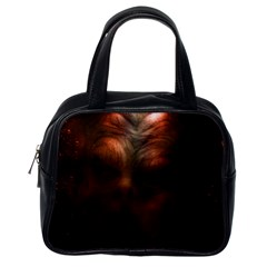 Monster Demon Devil Scary Horror Classic Handbags (one Side)