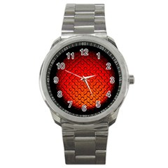 Sphere 3d Geometry Structure Sport Metal Watch
