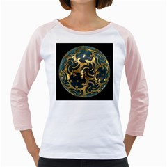 Sphere Orb Decoration 3d Girly Raglans