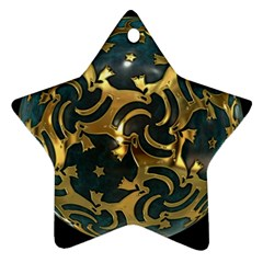 Sphere Orb Decoration 3d Star Ornament (two Sides)