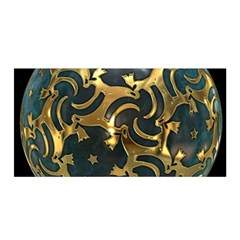 Sphere Orb Decoration 3d Satin Wrap by Celenk