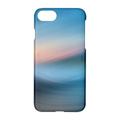 Wave Background Pattern Abstract Lines Light Apple Iphone 8 Hardshell Case