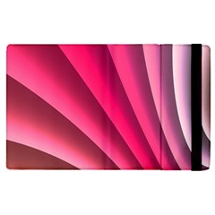 Wave Pattern Structure Texture Colorful Abstract Apple Ipad Pro 12 9   Flip Case by Celenk