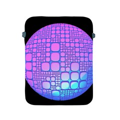 Sphere 3d Futuristic Geometric Apple Ipad 2/3/4 Protective Soft Cases by Celenk