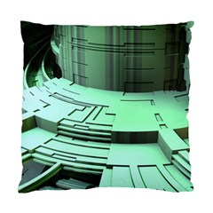 Futuristic Urban Architecture Standard Cushion Case (two Sides)