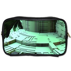 Futuristic Urban Architecture Toiletries Bags 2 Side
