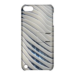Aqua Building Wave Apple Ipod Touch 5 Hardshell Case With Stand