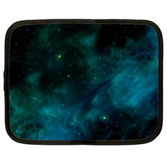 Green Space All Universe Cosmos Galaxy Netbook Case (xl)