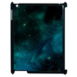 Green Space All Universe Cosmos Galaxy Apple iPad 2 Case (Black) Front
